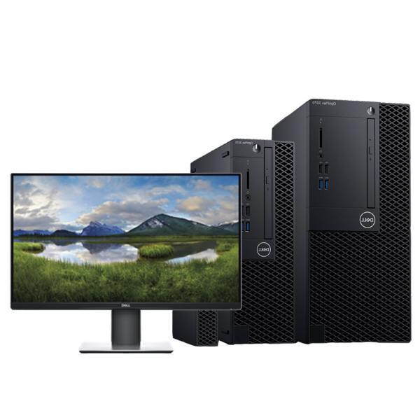 OptiPlex 3070 Tower 260187(I3-9100處理器/8G內存/128G固態+1T硬盤/集顯/DVDRW/硬盤保護/23.8顯示器)